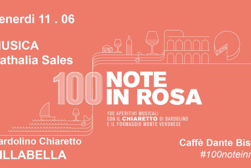 100 note in rosa   Venerdì 11 Giugno 2021