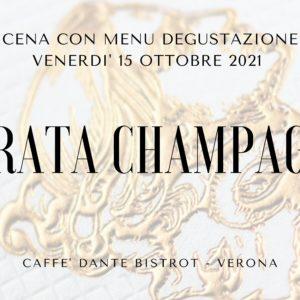 Venerdì 15 Ottobre serata Champagne!